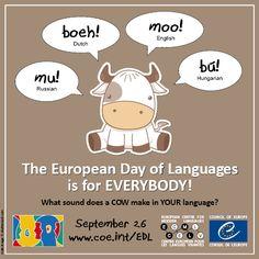 European Day of Languages > Language Fun > Animal sounds