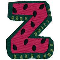 From Judy: We did it! The Watermelon  Alphabet is now complete with the letter Z. Last day to get Z #Free is 8/31/14. You have until 09/07/14 to pick up any missed letters, lowercase & coordinates at the awesome #sale price.  After that they'll revert to regular pricing. Why wait? Ila says: I've enjoyed this great Alphabet & Thank Judy so much for it.
