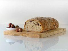 Pan de aceitunas negras con Thermomix - La Alacena de MO