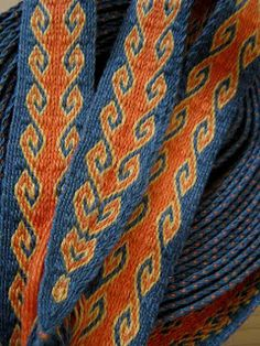 Tablet Weaving: Rams Horn 2