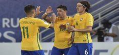Brasil venció 2-0 a Venezuela y tomó la punta de las Eliminatorias Rusia 2018 [Fotos y video] - Diario Perú21