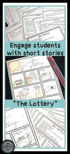 Students love this creepy dystopia short story!  Engage them in creative summary activity, discussion, and writing.  Great for reading and writing workshop.  Printable is perfect for sub plan and Halloween reading activity.