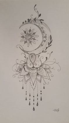 (notitle) - Tattoo-Ideen - Tattoo - (Notitle) - Tattoo-Ideen - Tatouage - de titre And Body Art Cute Tattoos, Leg Tattoos, Flower Tattoos, Body Art Tattoos, Tattoo Drawings, Small Tattoos, Awesome Tattoos, Pretty Tattoos, Tattoo Art