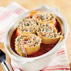 Lasagnes au jambon, ricotta et roquette - Recettes - Cuisine et nutrition - Pratico Pratique