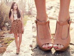 super cute heels, 70s vibe
