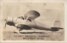Vintage RPPC Real Photo Postcard WWII U.S. Navy Aircraft Personnel Transport Beechcraft Model Postmarked 1944 Military Memorabilia by CompassionMatters502 on Etsy https://www.etsy.com/listing/515422813/vintage-rppc-real-photo-postcard-wwii-us