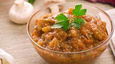 Receita de patê de berinjela com pimentão