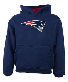 Look at this #zulilyfind! New England Patriots Pullover Hoodie - Boys #zulilyfinds
