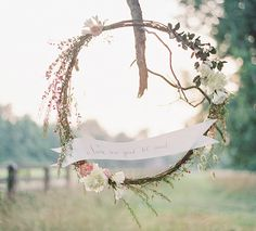 Check out this roundup of Wedding Wreath Ideas, which can be used to decorate the ceremony or reception space. MountainModernLife.com