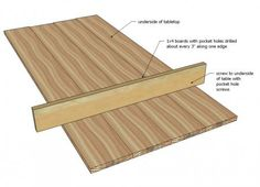 10 Tips for Building Tabletops