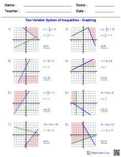 Systems Of Equations Worksheets Algebra 2 Multiplication 1