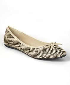 Loving this Luo Luo Black Grace Flat on #zulily! #zulilyfinds