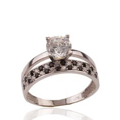 The Zerbap Wedding Ring with Zircon StoneZB0084 by Rosestyle, $16.50