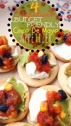 4 Ingredient, Budget Friendly Cinco De Mayo Appetizer!