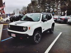 Alpine White Picture Thread - Jeep Renegade Forum