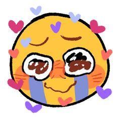 Crying Meme, Crying Emoji, Crying Tears, Emoji Drawings, Cute Drawings, Cute Memes, Funny Memes, Blushing Emoji, Lady Oscar