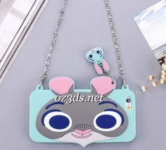 Zootopia Rabbit Judy Shoulder bag protect shell for iphone6