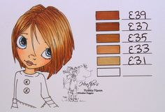 Heather's Hobbie Haven - Hair Color 72 ... Copic Markers
