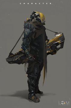character, Liang Mark on ArtStation at… Rpg Cyberpunk, Cyberpunk Fashion, Character Concept, Character Art, Arte Ninja, Futuristic Armour, Sci Fi Armor, Robot Concept Art, Robot Design
