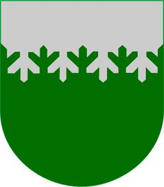 Coat of arms of Ylämaa a former municipality of Finland.