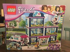 This listing is for a LEGO Friends Heartlake Hospital Building set. This set comes brand new and factory sealed in box. This is a rare LEGO set and has been retired by LEGO. Toys For Girls, Gifts For Girls, Lego Girls, Legos, Lego Friends Sets, Numbers For Kids, Lego House, Line Friends, Lego Instructions