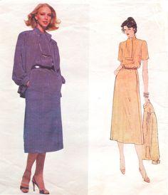 1970s Vogue Paris Original Sewing Pattern 2110 by CloesCloset, $16.00