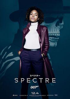 007 SPECTRE Japanese Version Poster 06 Naomie Harris