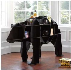 These Bear Shelves are an Adorable Way to Save Space trendhunter.com
