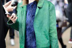 Street style Londres London Fashion Week otono invierno 2014   Galería de fotos 22 de 100   Vogue México