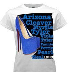 Zeta Phi Beta founders t-shirt