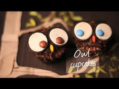 Watch how to decorate these cute owl cupcakes!
