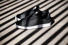 """adidas Originals Stan Smith """"Core Black"""" Woven & Suede"""