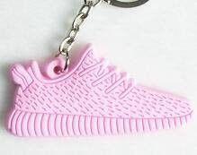 Yeezy Boost Pink Keychain