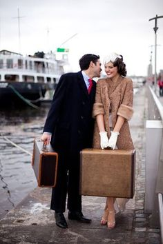 Sail Away With Me ~ A 1930's Inspired Wedding Inspiration Shoot...