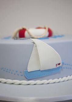 sweet tiers - birthday - birthday cake - sailboat cake