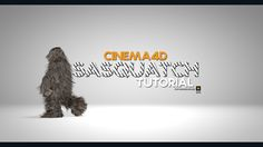 New Cinema4d tutorial for hair - How to make the Sasquatch (bigfoot) in Cinema4D Using PLAMATE plugin to bake the Character animation. Resource files for tut...