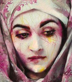 Spanish artist Lita Cabellut