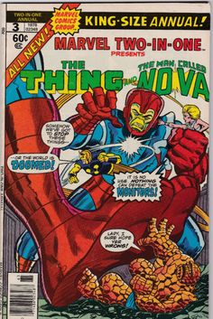 The Thing and Nova King-Size Annual #3