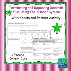 math worksheet : 1000 ideas about repeating decimal on pinterest  irrational  : Recurring Decimals Worksheet