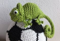 Crochet Chameleon, Gehäkeltes Chamäleon, häkeln Anleitung / Pattern…