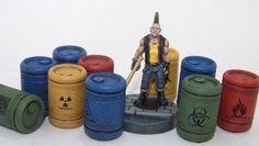 FGSF02 - Hazmat barrels