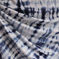 027bc3fda82 Shibori Bamboo Jersey Knit Indigo. Spandex FabricIndigoBambooUpholstery ShiboriTextilesDenimSewingTie Dye Skirt