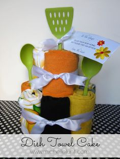 Faith, Trust, and Pixie Dust: Making a Dish Towel Cake