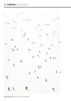 Inside Artists | Issue 2  Stephanie Ho, Frozen Planet 21, 100 x 70 cm, oil on linen