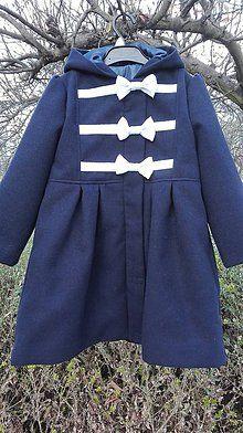 Detské oblečenie - Flaušový kabátik - 8716417_