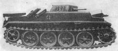 Panzer 2 Ausf A Flamm variant (Sd Kfz 122) flame throwing tank prototype