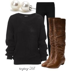 less is more, created by taytay-268 on Polyvore