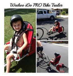 Gear Girl: Woohoo for Weehoo Bike Trailer! | MomTrends Perfect for biking with a kid who is too big for a bike seat, but not big enough to pedal along!