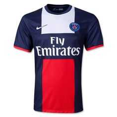 9a6781df7891 Maillot PSG 2013 2014 Domicile Populaire En Promo 26.99€ Football Jerseys,  Nike, Paris