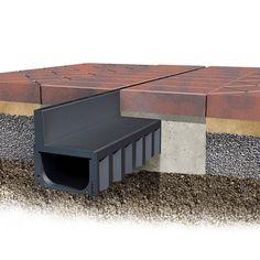 ACO Brickslot Hexdrain Slot Drain Channel x x - Yard Drain, Deck Drain, Roof Drain, Drain Pipes, Damp Proofing, Drainage Channel, Linear Drain, Sewage Treatment, Block Paving